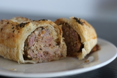 Our own made sausage rolls