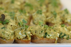 Curried egg bites